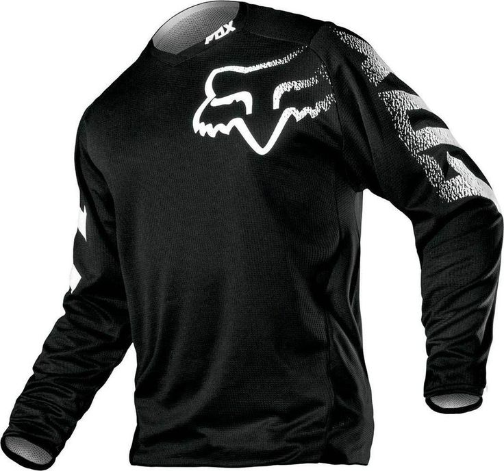2015 Fox Racing Blackout Motocross Dirtbike MX ATV Riding Gear Adult Mens Jersey #FoxRacing BRANDON