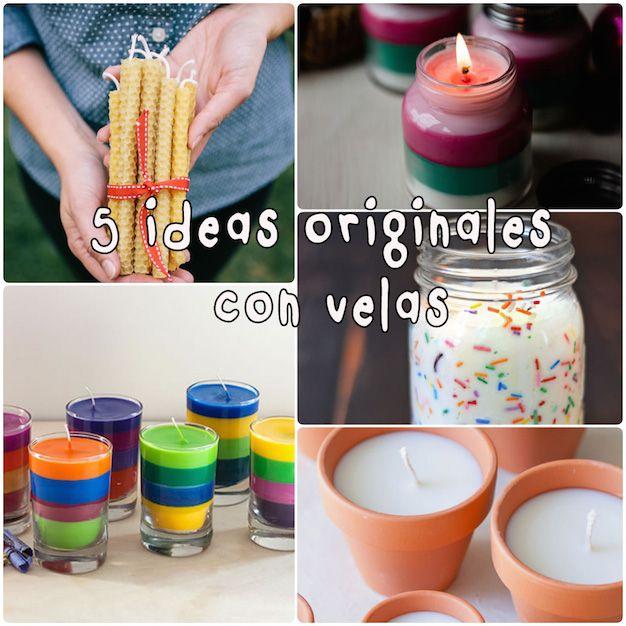 M s de 25 ideas incre bles sobre como hacer velas - Ideas decorativas navidenas ...