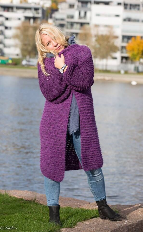 Chunky cardigan. Autumn 15. Yarn kits available at varmdesign.no