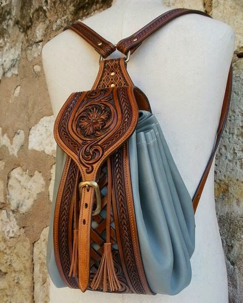 17 Best ideas about Leather Backpack Purse on Pinterest | Hand ...