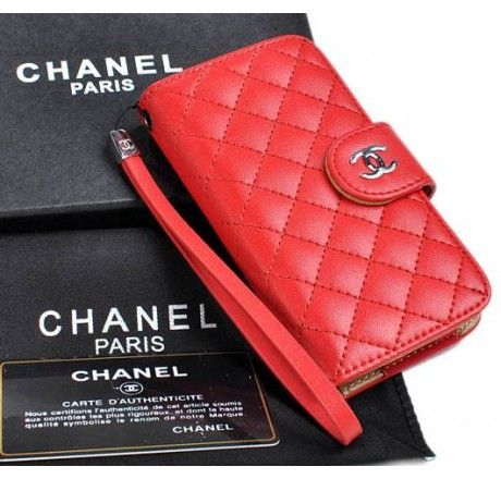 New Arrival Real Chanel iPhone 6 Cases - iPhone 6 Plus Cases - Nappa Leather Red - Free Shipping - Chanel & Louis Vuitton Authorized Store