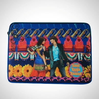 Funky Laptop Sleeve - 'Band Baaja Baraat'  Now At Rs. 850.00