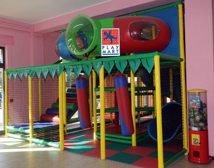 Play Mart - struttura di gioco (codice A) come nuova; capienza superiore indicativa 80-90 bambini!! completa di area 0-2 anni. - POSSIBILITA' DI NOLEGGIO