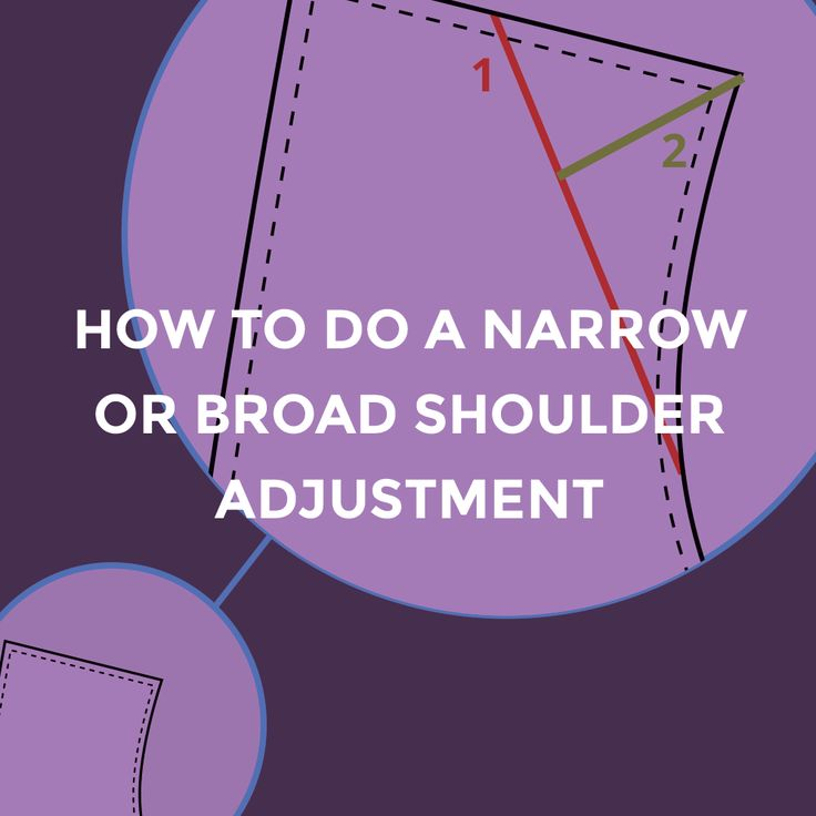 Today is the fourth installment in the Blackwood Cardigan Sewalong! We are going to wrap up the adjustments portion of the process today with narrow and broad shoulder adjustments. Tomorrow we will be
