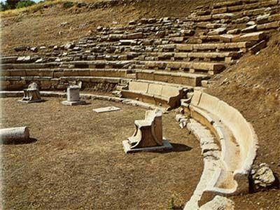 Αρχαιολογικός χώρος Ορχομενού (θέατρο) - Archaeological Site of Orchomenos (Theater) - Arc