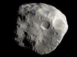 Epimetheus Revealed, moon of Saturn