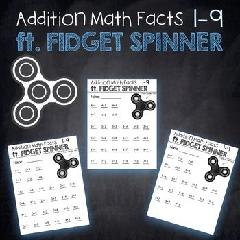 Are Fidget Spinners driving you crazy too?!I've come up with a fun easy way to utilize Fidget Spinners in this educational game! The objective of this game is for students to spin the fidget spinner, and complete as many math problems as they can until the spinner stops.
