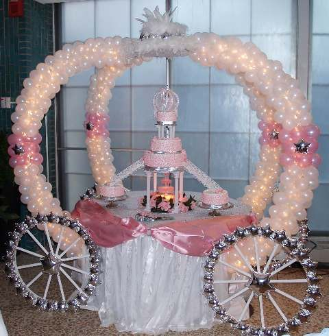 Image detail for -Wedding Ido: Castle and Train | Cinderella Themed Wedding Cakes