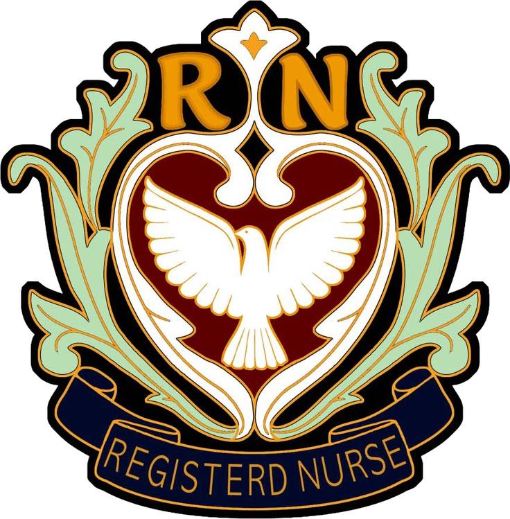 Korea Nurse RN insignia
