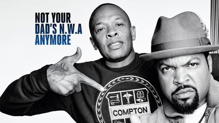 NWA Movie: Dr. Dre, Ice Cube on Straight Outta Compton #NWAMovie #NWA #IceCube #DRDre #Compton #GangstaRap #EazyE #McRen #DJYella