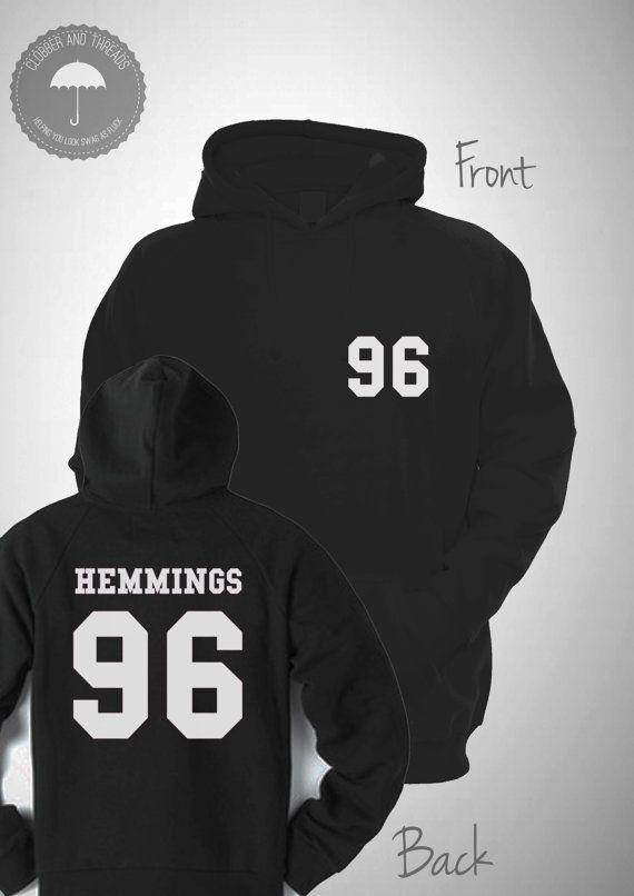 Hemmings 95 Varsity Hooded Sweatshirt College by ClobberAndThreads