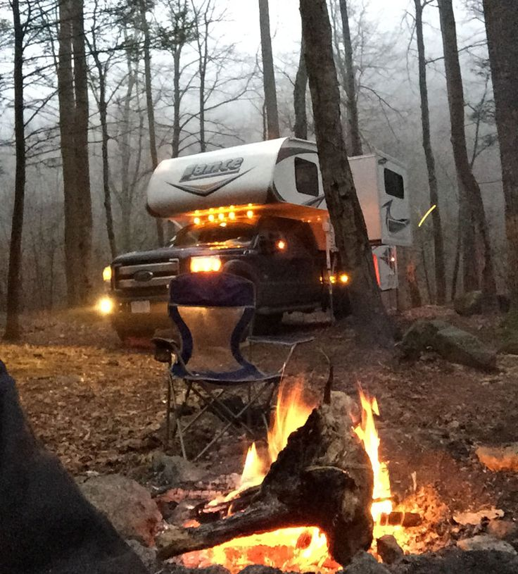 Four Season Camping in a Lance Camper,  http://www.truckcampermagazine.com/question-of-the-week/100-winter-truck-camping-tips/