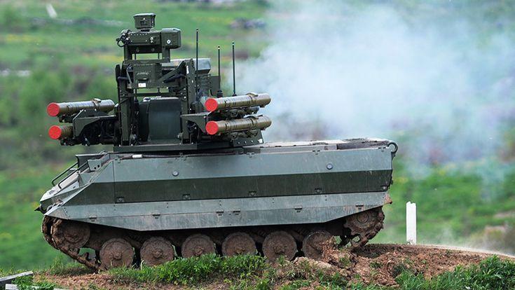 ICYMI: Guerra de máquinas: Así ataca el robot de combate ruso Urán 9 (VIDEO)