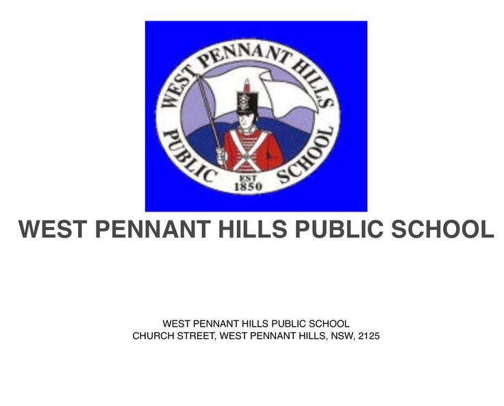 I attended West Pennant Hills Public School Australia from 1957 to 1964.