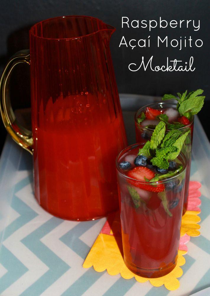 Tasty Raspberry Açaí Mojito Mocktail #Recipe! #GiirlsNightIn — The Queen of Swag! #SweepsEntry