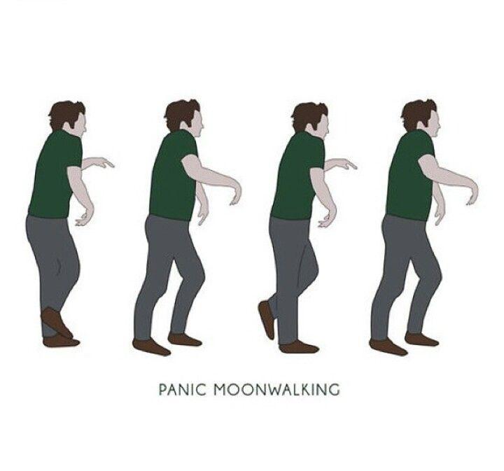 Panico moon walks. - Assim que o Nick fugia de confrontações em New girl