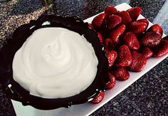 Fruit Dip: Cool Whip, Cream Cheese & Confection Sugar
