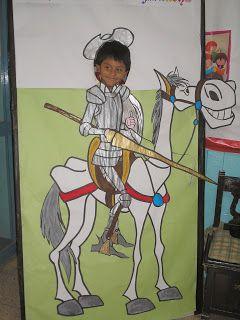 """Comienza hoy la  """"Semana Cultural""""  en el cole. Este año va enfocada al Quijote, ya que se cumple el centenario de su publicación.   El día ..."""