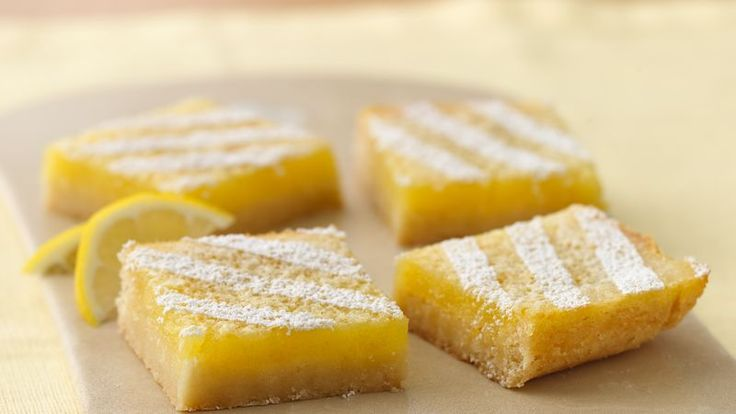 With the tanginess of lemons and a sweet angel-dusting of powdered sugar, these must-bake lemon bars take your dessert from good to best!