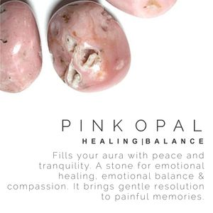 PINK OPAL Stone meaning, crystal guide, volerra
