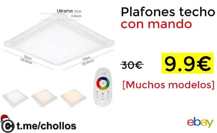 Plafones para techo con mando disponible por 99 - http://ift.tt/2kb4gwE