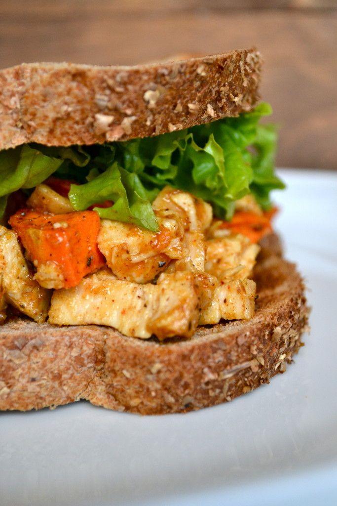 curry almond butter chicken salad sandwich chicken salad sandwiches ...