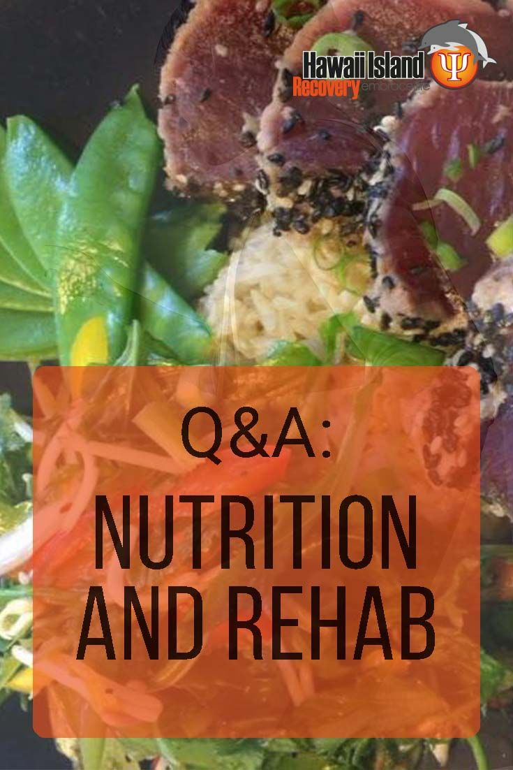 How does drug use affect my nutrition? Does it really matter what I eat, as long as I quit doing drugs? #addiction #recovery #hawaii