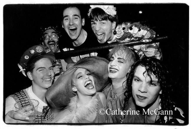 "Michael Alig, Club Kid and convicted murderer in a series of photos by Village Voice photographer Catherine McGann.  Alig was convicted of the murder of Angel Melendez and is the subject of the book ""Party Monster"" by James St. James.  Alig was portrayed by actor Macauley Culkin in the film of the same name."