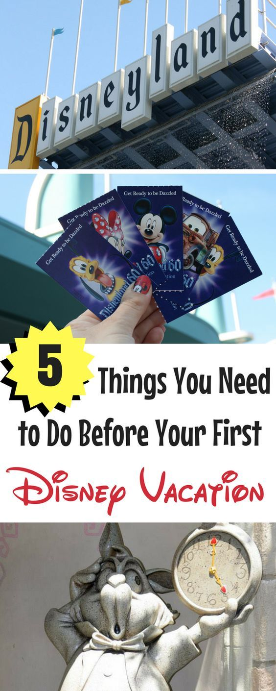 What are the 5 things you MUST-DO before taking a Disney vacation? Check out these expert tips.
