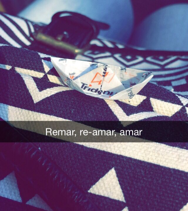 Remar, re-amar, amar..