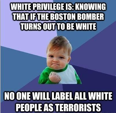 white privilege in american society Privilege theory destroys the american ideal of  of who you are and how you participate in society  of the concept of white privilege,.