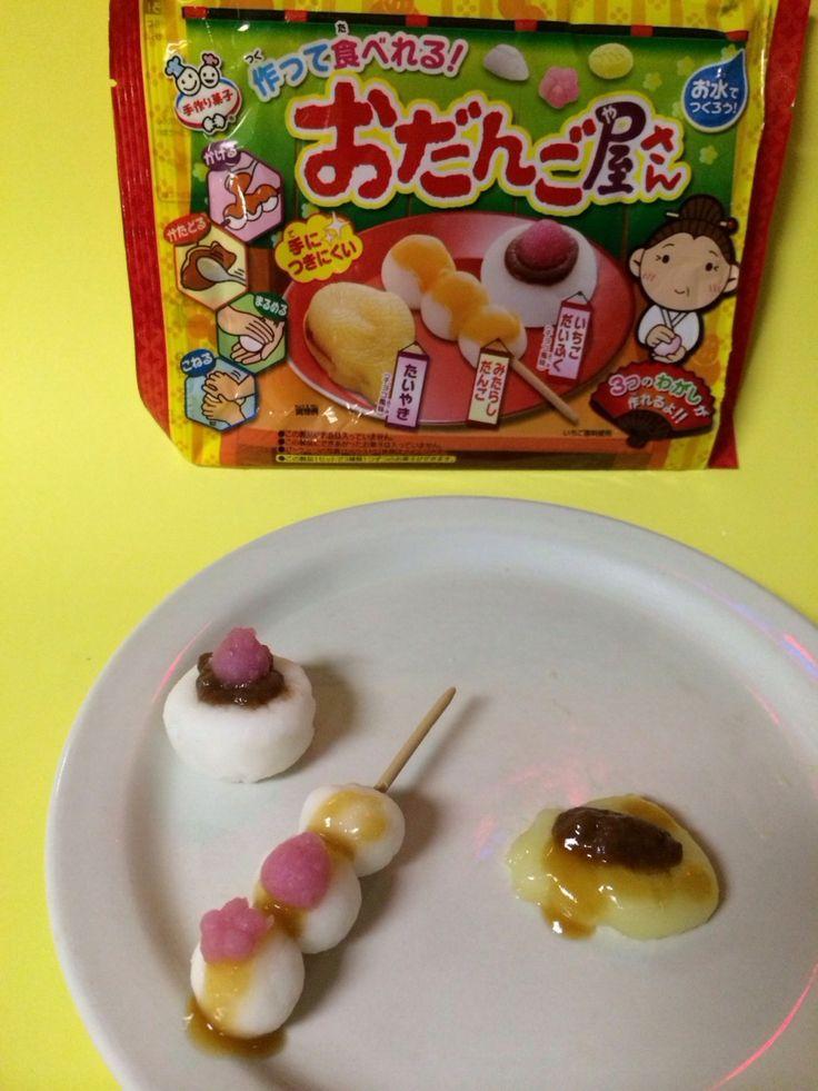 How to Make Meiji Odangoyasan DIY TaiyakiDangoMochi Kit