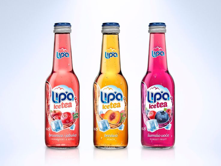 Lipa Ice Tea on Packaging of the World - Creative Package Design Gallery