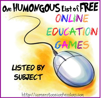 One Humongous List of Online Education Games