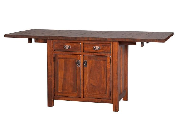 Exciting Amish Furniture Kitchen Island