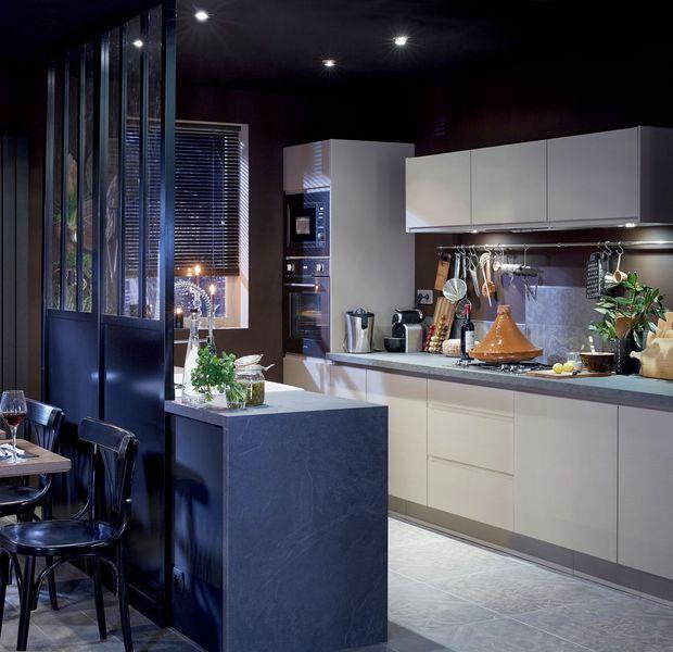 60 best s paration cuisine sejour images on pinterest. Black Bedroom Furniture Sets. Home Design Ideas