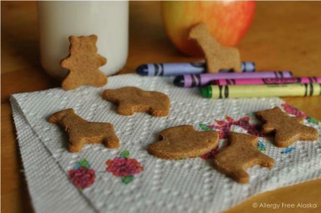 Paleo animal crackers.