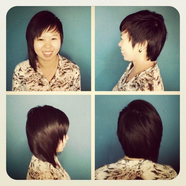 A symmetrical cut by Lizz