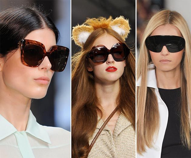 Spring/ Summer 2014 Eyewear Trends: Oversized Sunglasses  #sunglasses #eyewear