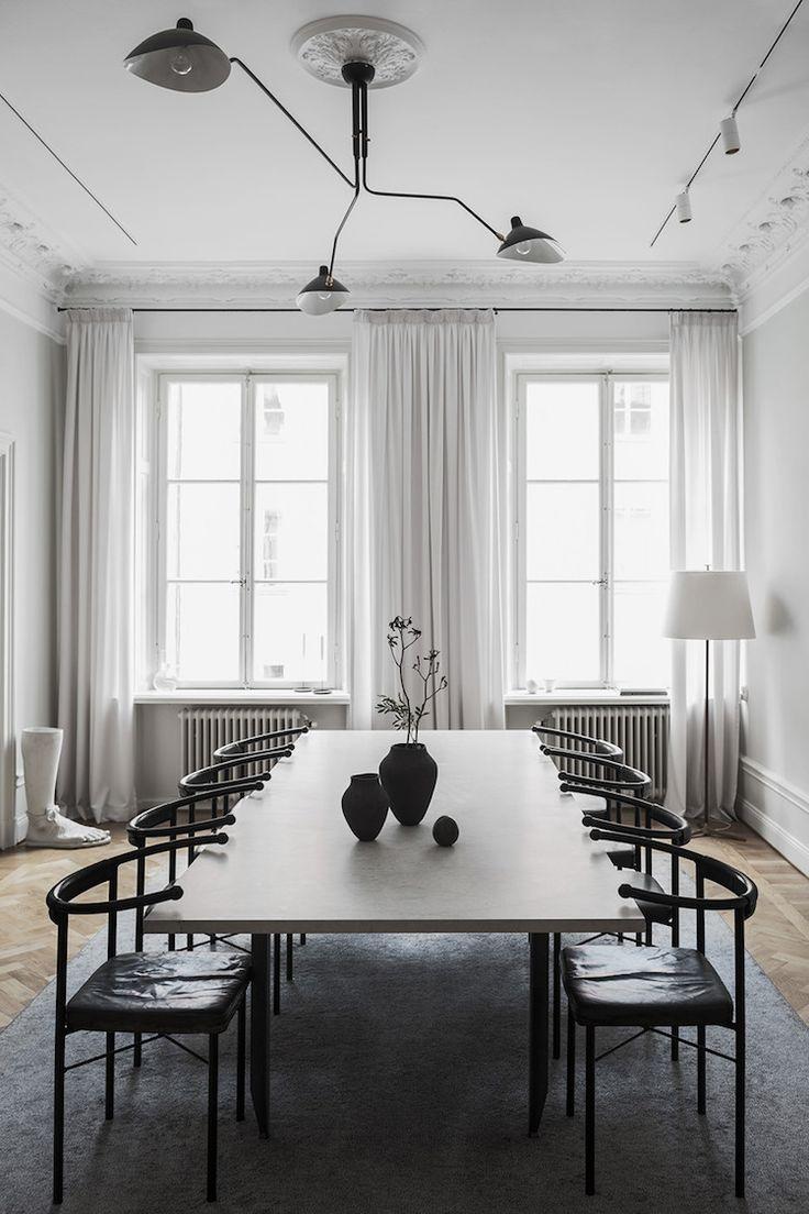 The Elegant u0026 Stylish Home of Swedish