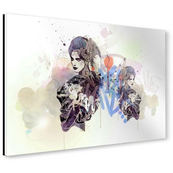 "artboxONE Galerie-Print 30x20 cm Illustration ""Volador"" bunt hochwertiges…"