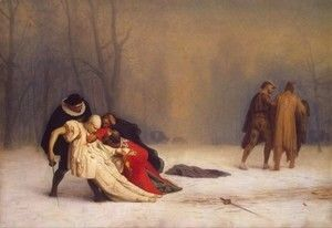 Duel After a Masquerade Ball  Jean-Léon Gérôme