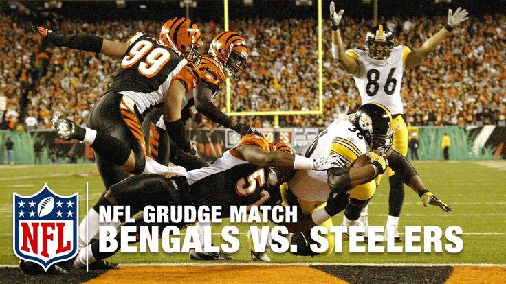 Bengals vs. Steelers Grudge Match | 2005 AFC Wild Card | NFL