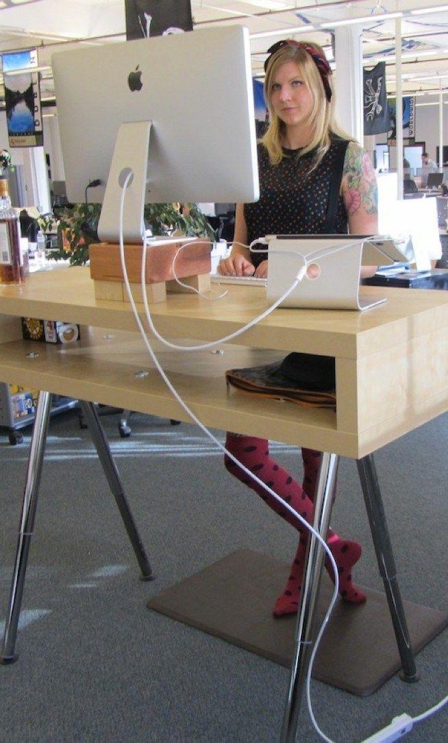 Top 10 Standing Desk Diy You Can Try Diy Standing Desk Diy