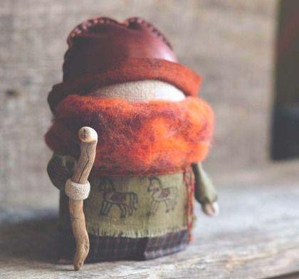 """Народные куклы ручной работы. Ярмарка Мастеров - ручная работа Кукла богач """"Фомич"""". Handmade."""