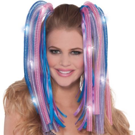 Colorful Noodle Light Up Headband Party City Party