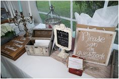 Card Table  | The Budget Savvy Bride