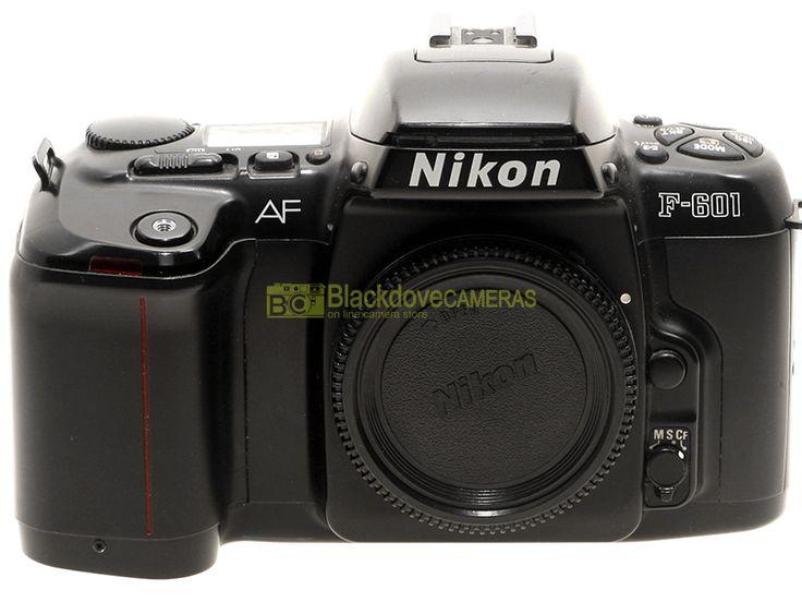 Blackdove-Cameras > Nikon F601 reflex autofocus a pellicola. Garanzia 12 mesi. F-601