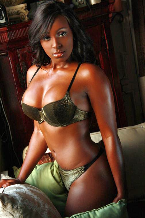 Gorgeous ebony girl