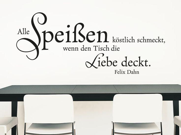 Yli tuhat ideaa Wandtattoo Küche Selbst Gestalten Pinterestissä - wandtattoo küche guten appetit